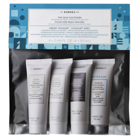 KORRES The Skin Soothers Nourishing Greek Yoghurt Collection