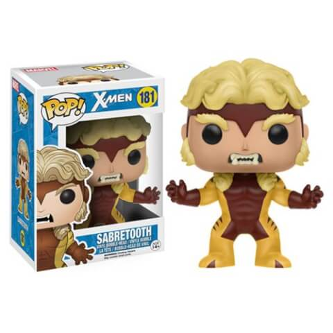 Figurine Funko Pop! X-Men Dents-de-sabre