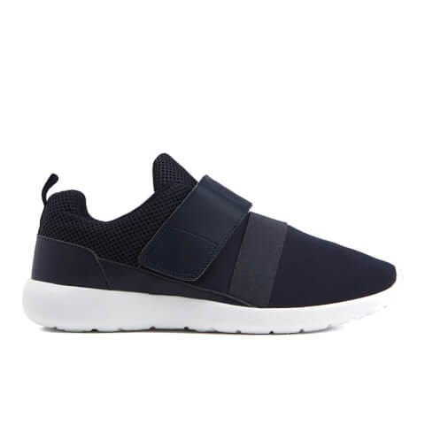 Brave Soul Men's Topper Trainers - Navy