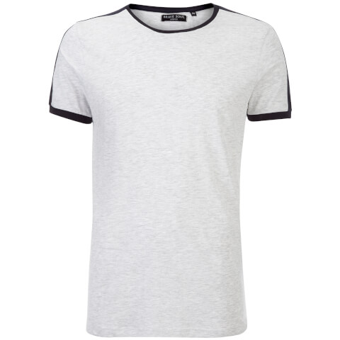 T-Shirt Homme Pete Brave Soul -Marine/Bleu