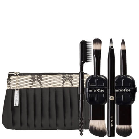 Mirenesse 8 Boutique Travel Brush Must Have Kit