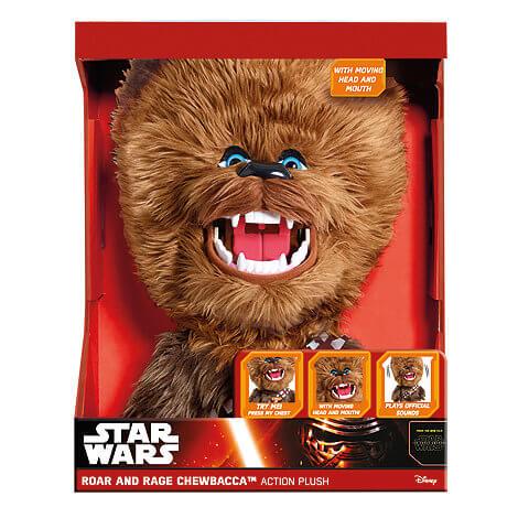Star Wars Roar and RAGE Chewbacca Talking Plush