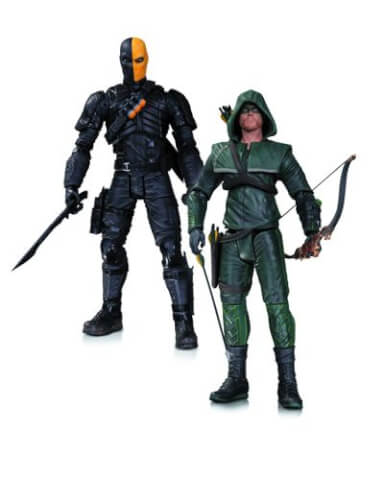 DC Collectibles Arrow Oliver Queen and Deathstroke Action Figure 2-Pack