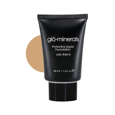 glominerals gloProtective Liquid Base Oil Free Satin II - Natural-Light