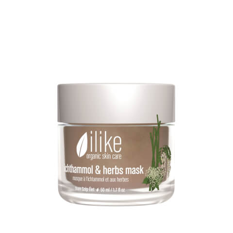 ilike organic skin care Ichthammol & Herbs Mask
