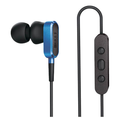 KEF M100 Earphones - Racing Blue