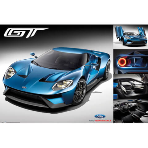 Ford GT 2016 Maxi Poster - 61 x 91.5cm