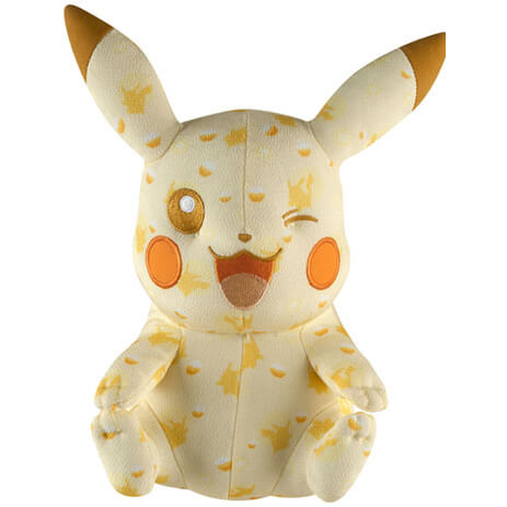 Pokemon Plush Figure 20th Anniversary Special Pikachu Wink