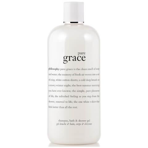 Philosophy Pure Grace Shampoo, Bath and Shower Gel 480ml