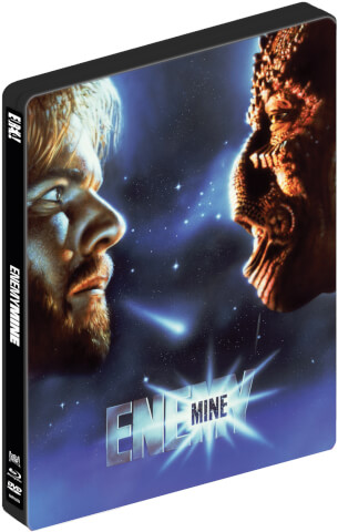 Enemy Mine - Geliebter Feind - Dual Format Zavvi Exklusives Limitierte Blu-ray Steelbook UK Edition (Inklusive DVD)