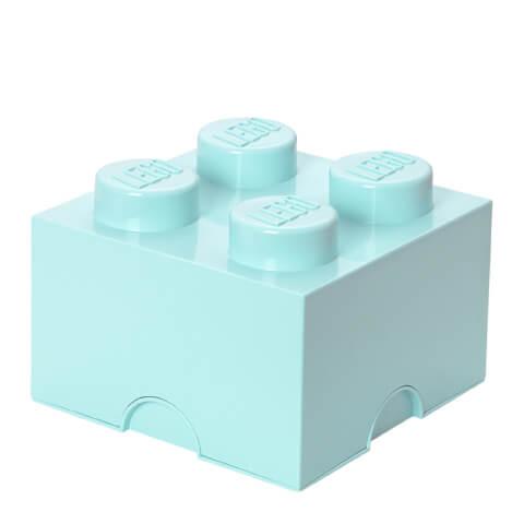 LEGO Storage Brick 4 - Aqua