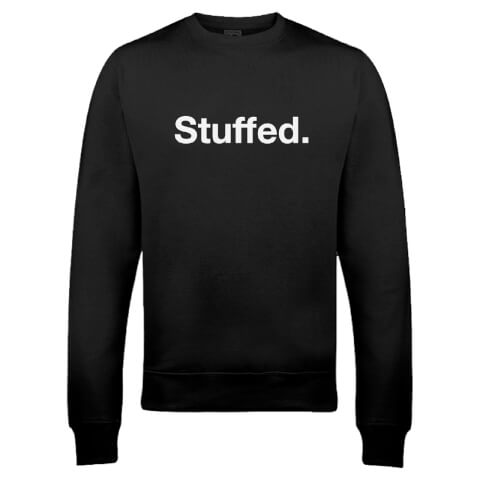 Stuffed Christmas Sweatshirt - Black