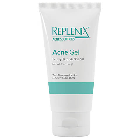 Replenix Acne Solutions Benzoyl Peroxide 5% Acne Gel