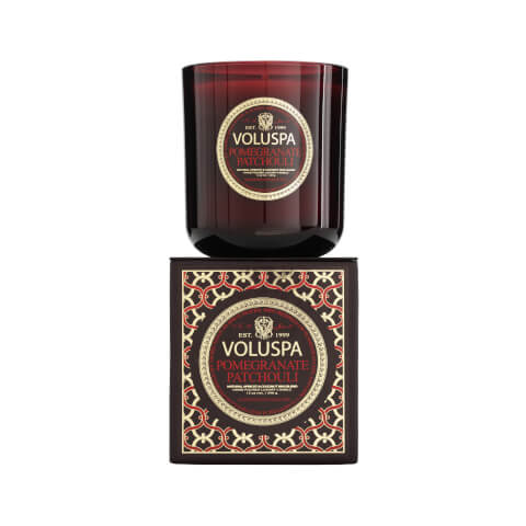 Voluspa Maison Rouge Classic Maison Candle - Pomegranate Patchouli