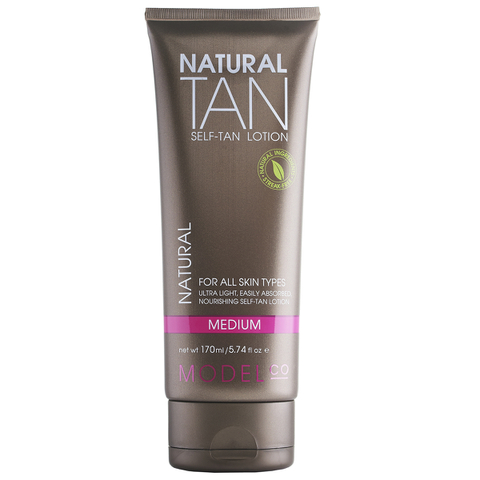 ModelCo Natural Tan Sensitive Self-Tan Lotion 170ml