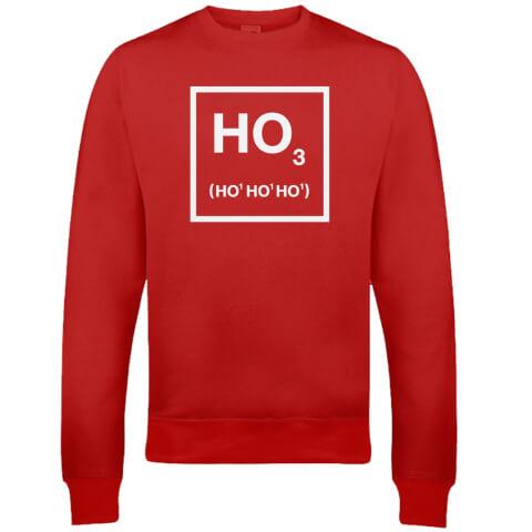 Ho Ho Ho Christmas Sweatshirt - Red