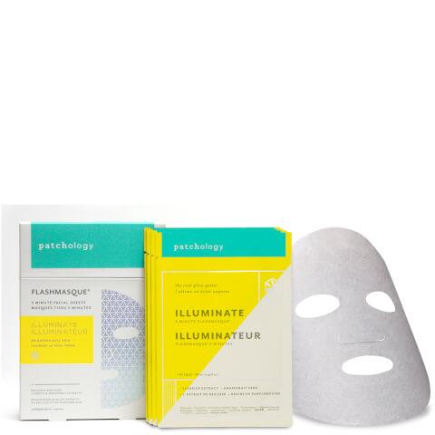 Patchology FlashMasque Illuminate - 4-Pack
