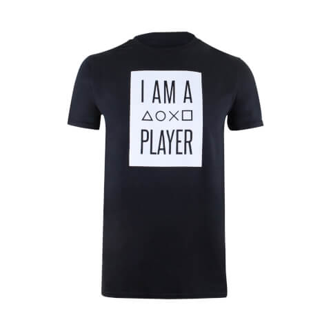 PlayStation Men's I Am A Player T-Shirt - Black