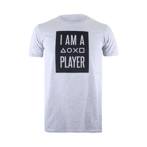 T-Shirt Homme PlayStation I Am A Player - Gris
