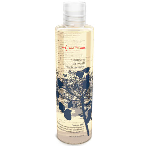 Red Flower French Lavender Cleansing Hair Wash