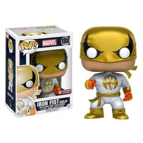 Marvel Iron Fist White Costume LE Pop! Vinyl Bobble Figure - FCBD Previews Exclusive