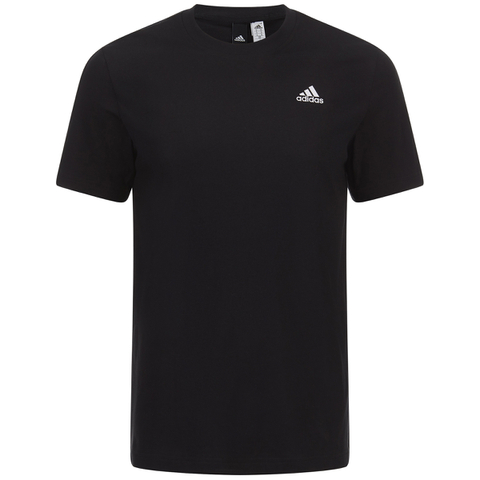 adidas Men's Essential Logo T-Shirt - Black