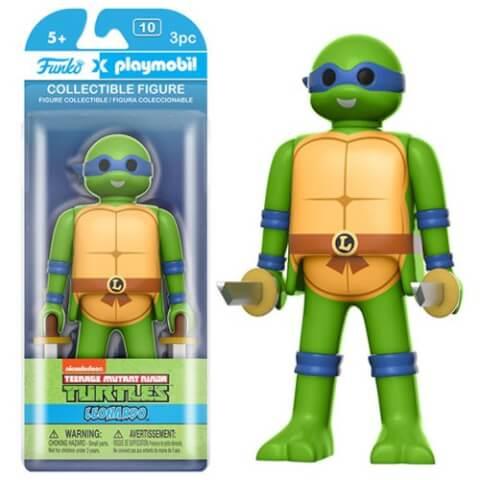 Figurine Funko x Playmobil : Les Tortues Ninja - Leonardo