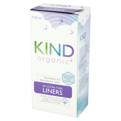 KIND Organic Ultra Thin Liners 30