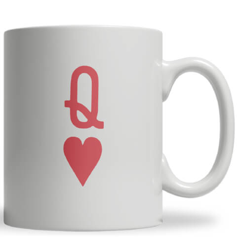 Queen of Hearts Ceramic Mug