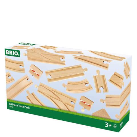 Coffret 50 Rails - Brio