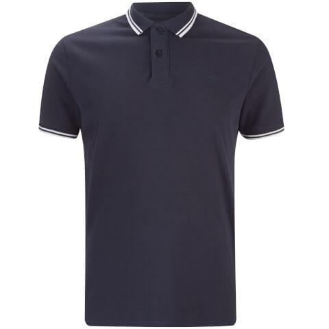 Threadbare Men's Gilroy Polo Shirt - Navy