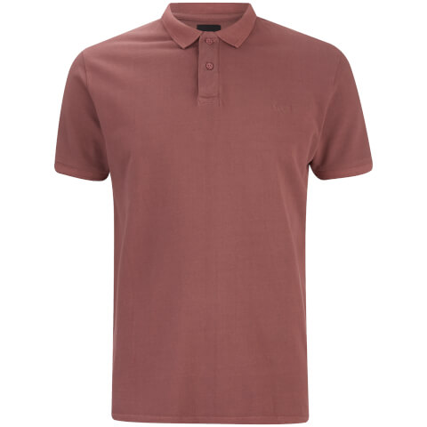 Threadbare Men's Kerman Polo Shirt - Burgundy