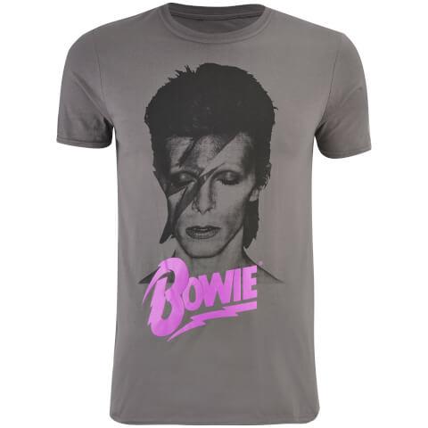 David Bowie Men's Aladin T-Shirt - Charcoal