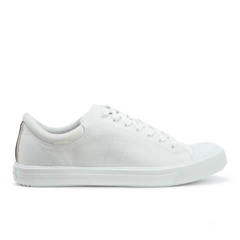 Jack & Jones Men's Mervin Textile Trainers - Bright White