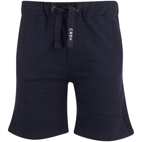 Crosshatch Men's Conserv Jog Shorts - Night Sky