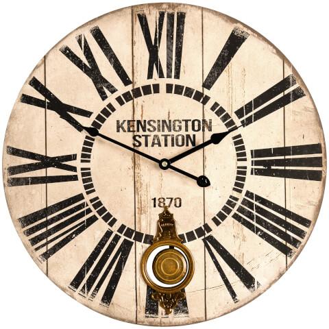 Horloge Gare Rétro - Fifty Five South