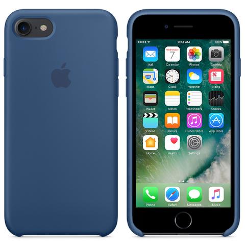 Apple iPhone 7 Silicone Case - Ocean Blue