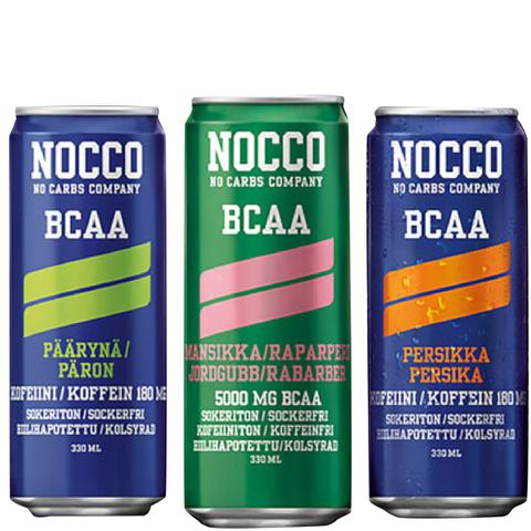 NOCCO BCAA, 12 x 330ml