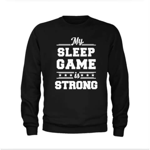 Sweat Homme Sleep Game - Noir