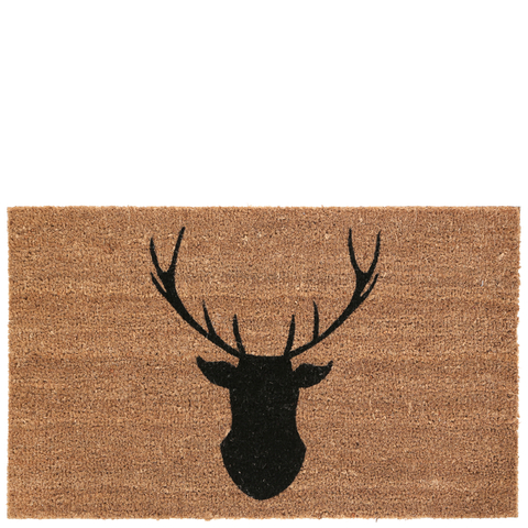 Deer Doormat - Natural
