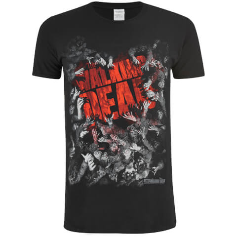 Walking Dead Men's Film Logo T-Shirt - Black