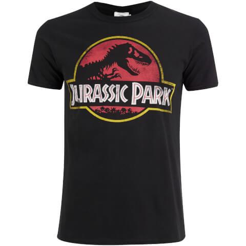 Jurassic Park Men's Classic Logo T-Shirt - Black