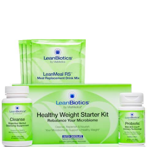 VitaMedica LeanBiotics Healthy Weight Starter Kit - Dutch Chocolate (Worth $124.00)