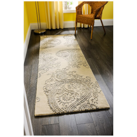 Tapis Flair Mayfair Park Rug - Gris (60X230)