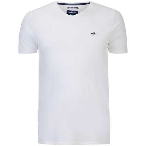 T-Shirt Homme Glasshouse V Le Shark -Blanc
