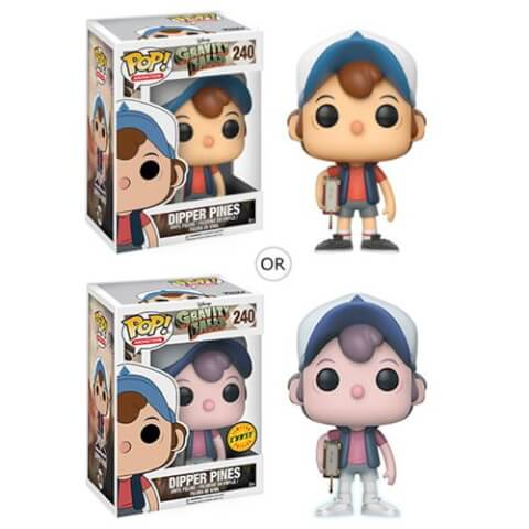 Figurine Funko Pop! Souvenirs de Gravity Falls Dipper Pines ou Variante Chase