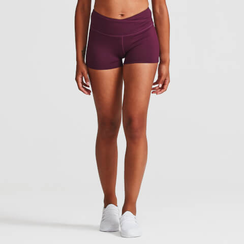 IdealFit Core Training Shorts - Dark Berry