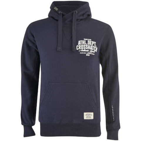 Sweat à Capuche Homme Sparrow Crosshatch - Bleu Marine