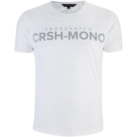 Crosshatch Men's Maffle T-Shirt - White