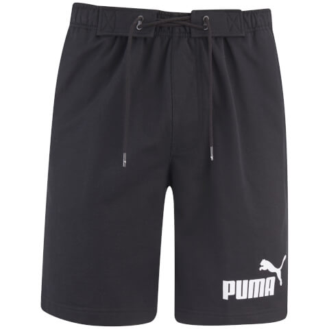 Puma Men's Logo Jog Shorts - Black